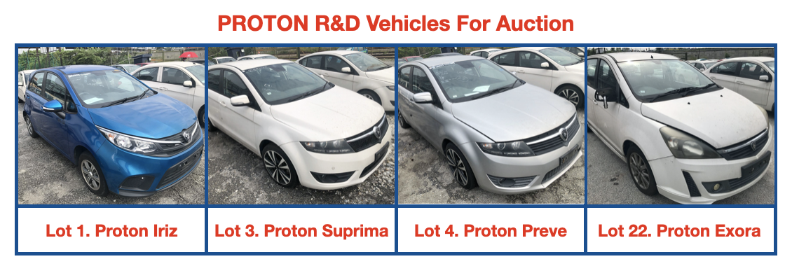 Proton R&D Vehicles