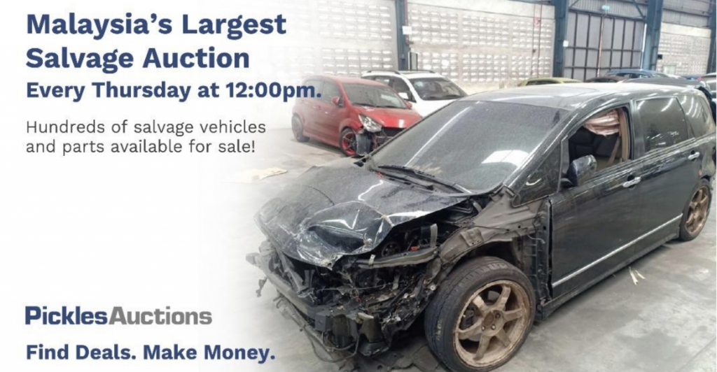 Pickles Salvage Auction